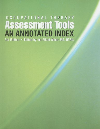 Occupational Therapy Assessment Tool: An Annotated Index 3rd 2007 edition cover