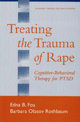 Treating the Trauma of Rape Cognitive-Behavioral Therapy for PTSD  2002 edition cover