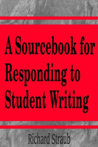 Sourcebook for Responding to Student Writing  N/A edition cover