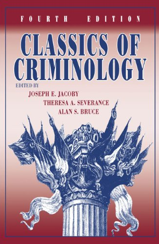 Classics of Criminology  4th 2012 edition cover
