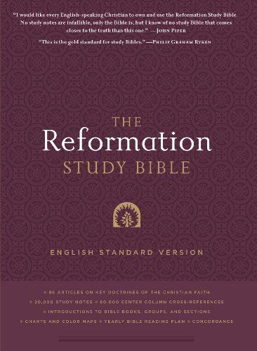 Reformation Study Bible ESV  2nd 9781596381360 Front Cover
