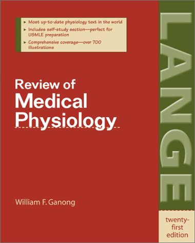 Review of Medical Physiology  21st 2003 9780071402361 Front Cover