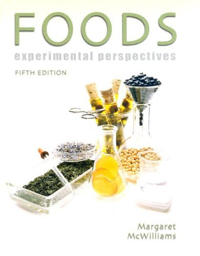 Foods Experimental Perspectives 5th 2005 edition cover