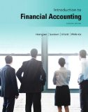 Introduction to Financial Accounting Plus NEW MyAccountingLab with Pearson EText -- Access Card Package  11th 2014 9780133489361 Front Cover