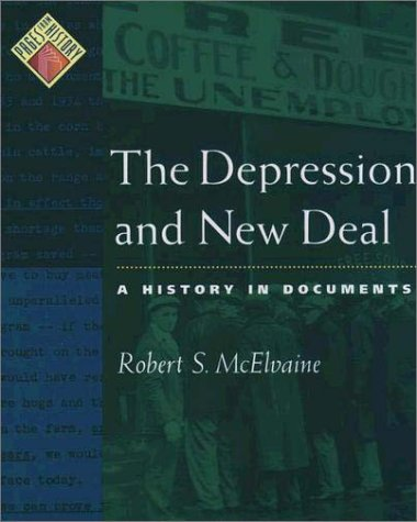 Depression and New Deal A History in Documents N/A edition cover