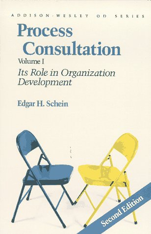 Process Consultation Its Role in Organization Development 2nd 1988 edition cover