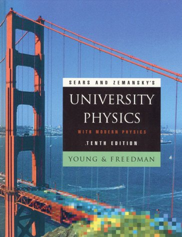 University Physics Extended Edition 10th 2000 edition cover