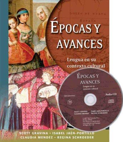 Epocas y Avances Lengua en Su Contexto Cultural  2007 edition cover