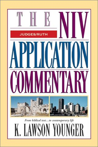 NIV Application Commentary Judges/Ruth   2002 edition cover