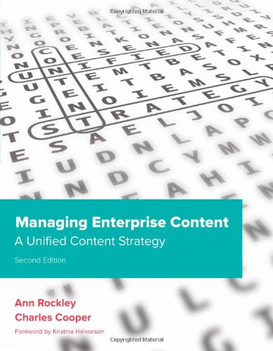Managing Enterprise Content A Unified Content Strategy 2nd 2012 edition cover