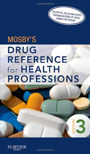 Mosby's Drug Reference for Health Professions  3rd 2011 edition cover