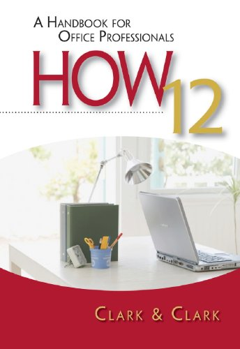 How A Handbook for Office Professionals 12th 2010 edition cover