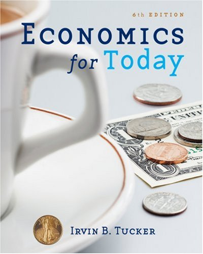 Economics for Today  6th 2010 edition cover