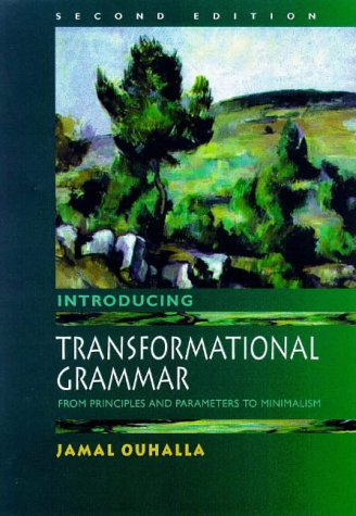 Introducing Transformational Grammar From Principles and Parameters to Minimalism 2nd 1999 (Revised) edition cover
