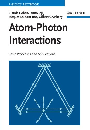 Atom-Photon Interactions Basic Processes and Applications  1998 edition cover