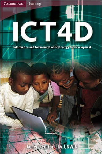ICT4D Information and Communication Technology for Development  2008 9780521712361 Front Cover