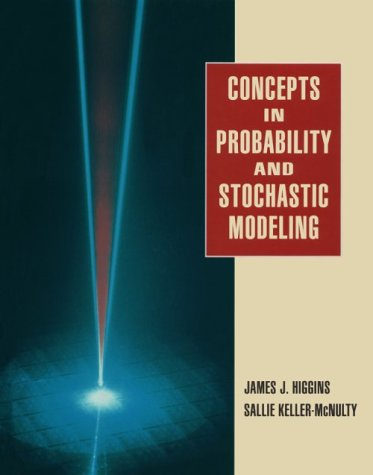 Concepts in Probability and Stochastic Modeling  1995 edition cover