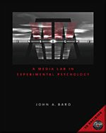 InSight A Media Lab in Experimental Psychology  2004 9780534640361 Front Cover