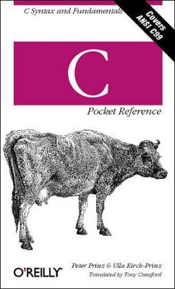 C Pocket Reference   2002 edition cover