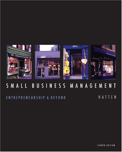 Small Business Management Entrepreneurship and Beyond 4th 2009 edition cover