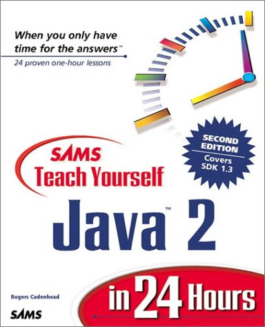 Java in 24 Hours  2nd 2000 9780672320361 Front Cover