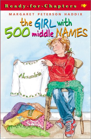 Girl with 500 Middle Names   2001 edition cover