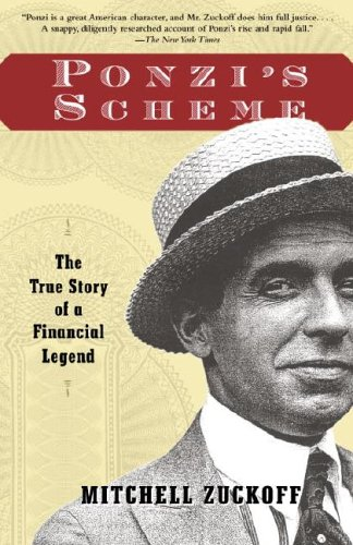 Ponzi's Scheme The True Story of a Financial Legend N/A edition cover