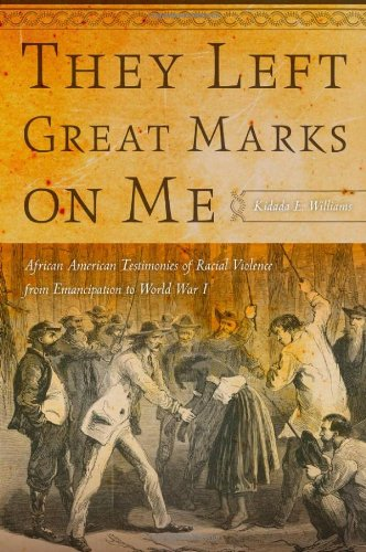 They Left Great Marks on Me African American Testimonies of Racial Violence from Emancipation to World War I  2012 edition cover