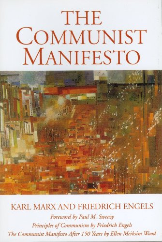 Communist Manifesto  150th 1998 (Anniversary) edition cover