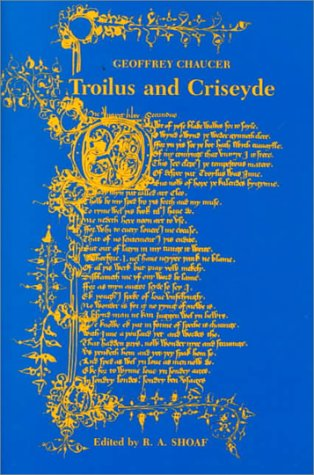 Troilus and Criseyde  N/A edition cover
