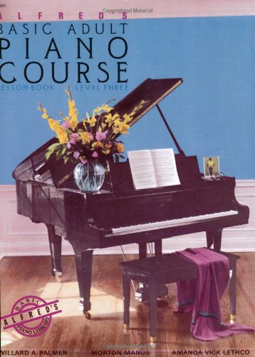 Alfred's Basic Adult Piano Course Lesson Book, Bk 3   1987 edition cover