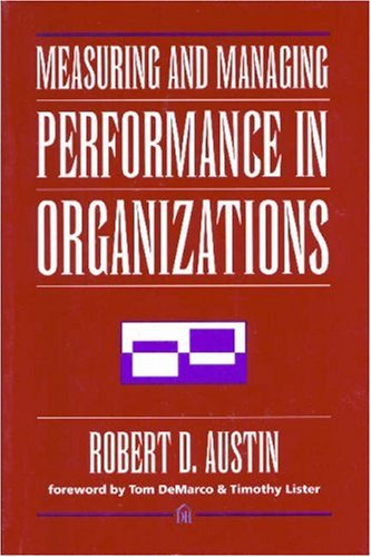 Measuring and Managing Performance in Organizations   1996 edition cover