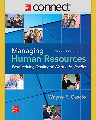 MANAGING HUMAN RESOURCES-CONNECT ACCESS N/A 9781259359361 Front Cover