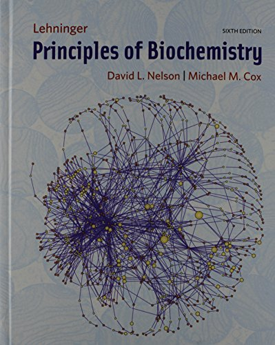 Principles of Biochemistry and Study Guide and Solutions Manual  6th 2013 edition cover