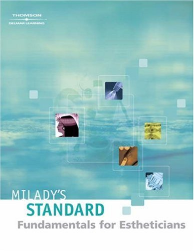 Milady's Standard Fundamentals for Estheticians 9th 2004 (Revised) edition cover