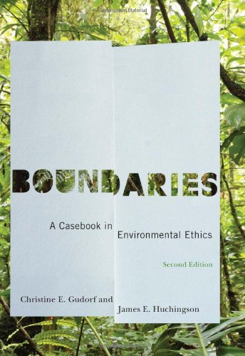 Boundaries A Casebook in Environmental Ethics 2nd 2010 (Revised) edition cover