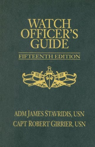 Watch Officer's Guide  15th 2006 (Revised) edition cover