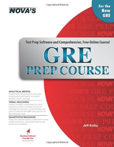 GRE Prep Course  N/A 9781889057361 Front Cover