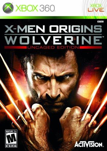 X-Men Origins: Wolverine - Uncaged Edition - Xbox 360 Xbox 360 artwork