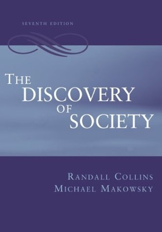 Discovery of Society  7th 2005 (Revised) edition cover