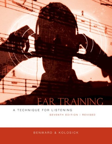 Ear Training  7th 2010 (Revised) edition cover