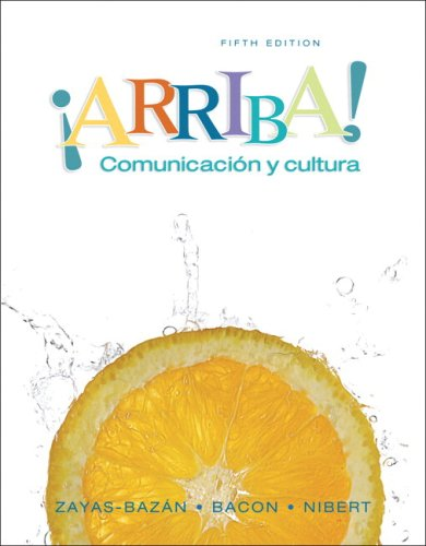Iarriba! Comunicac�on y Cultura 5th 2008 (Student Manual, Study Guide, etc.) edition cover