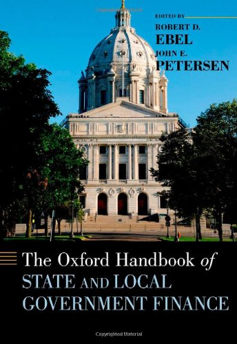 Oxford Handbook of State and Local Government Finance   2012 9780199765362 Front Cover
