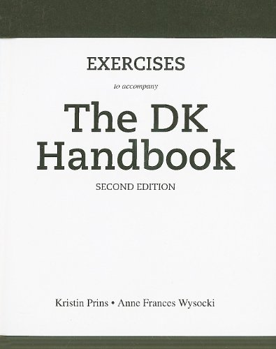 Exercises for the DK Handbook  2nd 2011 9780205778362 Front Cover