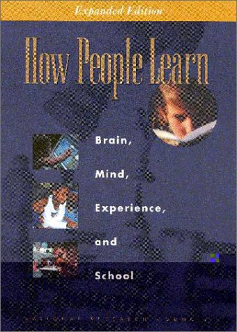 How People Learn Brain, Mind, Experience, and School 2nd 2000 edition cover