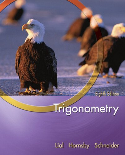 Trigonometry  8th 2005 (Revised) edition cover