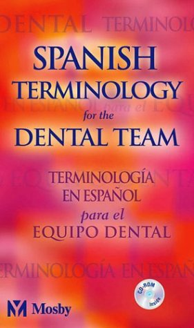 Spanish Terminology for the Dental Team   2003 edition cover