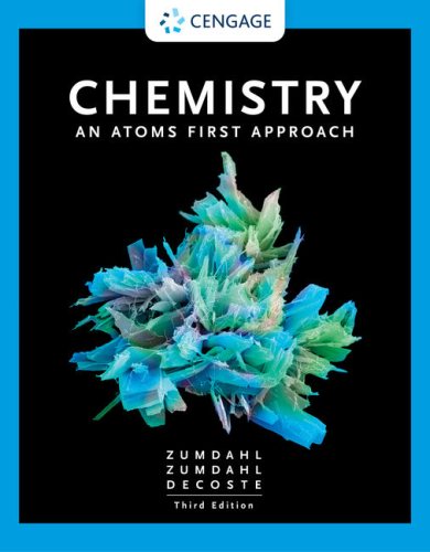 Chemistry: An Atoms First Approach  2020 9780357363362 Front Cover