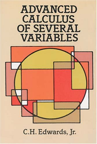 Advanced Calculus of Several Variables   1994 (Unabridged) edition cover