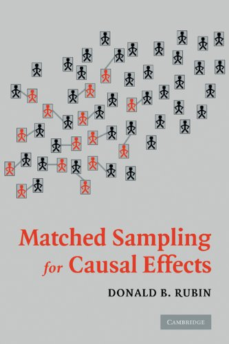 Matched Sampling for Causal Effects   2006 edition cover